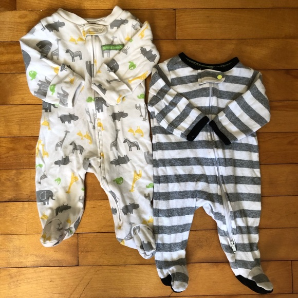 Carter's Other - CLEARANCE Cotton Sleeper Footie Suit Neutral Color